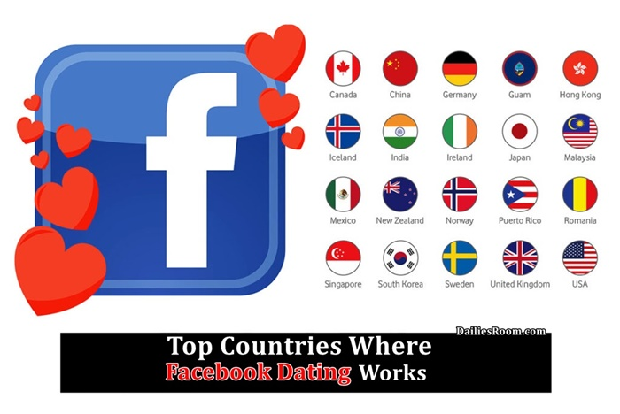 Top Countries Where Facebook Dating Works   Facebook Dating Eligible Countries